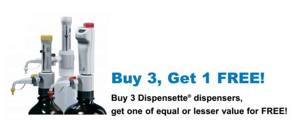 Buy 3 Dispensette 3 Get 1 FREE
