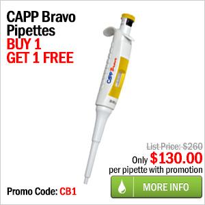 Buy 1 Capp Bravo Pipette Get 1 FREE