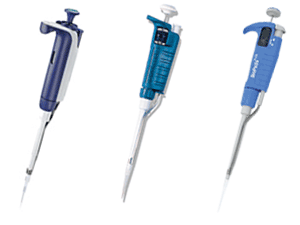 largest of selection of pipettes