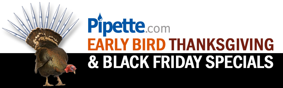 Black Friday Promotions at Pipette.com