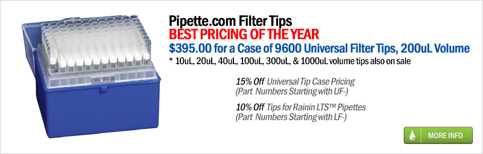 universal filter pipette tips sale at pipette.com
