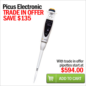 sartorius picus electronic pipette trade in offer