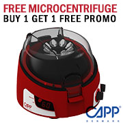 Free microcentrifuge when you buy one unit