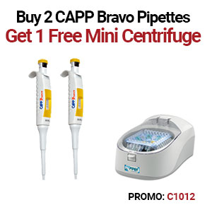 CAPP Bravo Pipette Promotions
