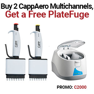CAPP multichannel pipettes on sale