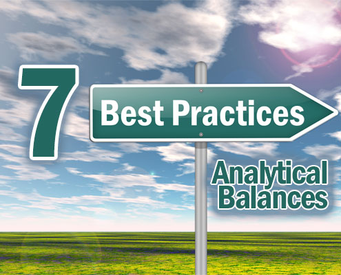 7 best practices for using analytical balances