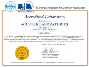 Pipette Calibration Service by Accutek Lab