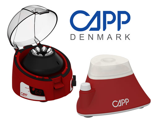 CAPP Rondo microcentrifuge vortex mixer