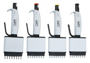 Multichannel pipettes with the easiest tip mounting and ejection - CAPPAero