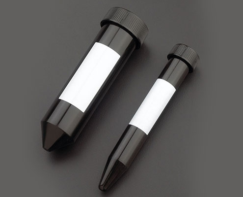 CellTreat Black Centrifuge Conical Tubes are available at Pipette.com