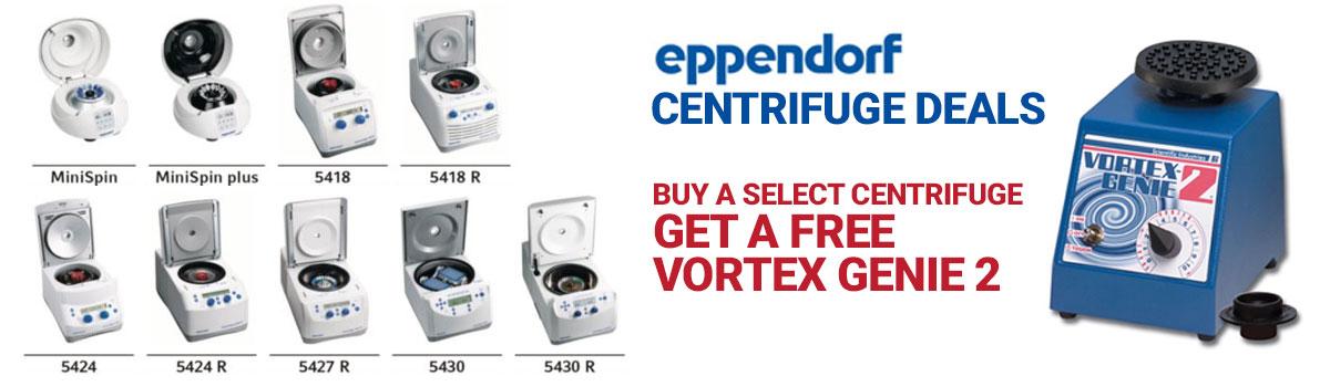 Eppendorf centrifuge free vortex genie 2