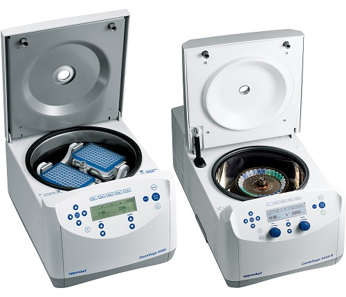 With its compact size, the Eppendorf 5430 and Eppendorf 5430 R centrifuges also accommodate rotors for microplates and 15/50 mL conical tubes.