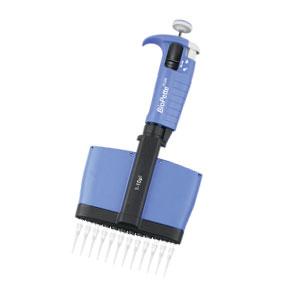 the Labnet Biopette Pluss multichannel surpasses the standard Gilson Neo multichannel.