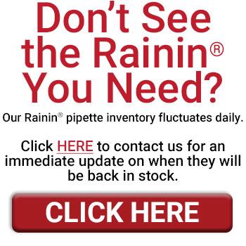 Affordable Rainin Pipettes
