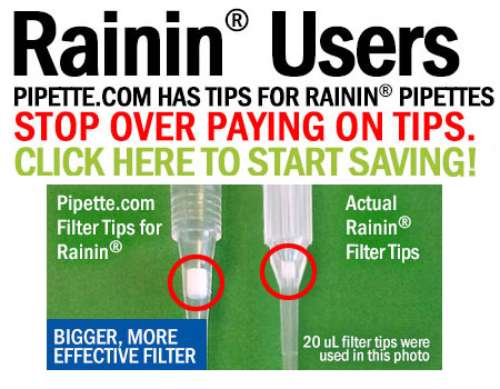 Affordable Alternative to Rainin Filter Tips