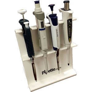 4 Place Linear Universal Pipette Stand