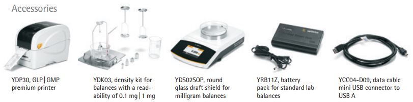 Sartorius Secura Balance_Accessories
