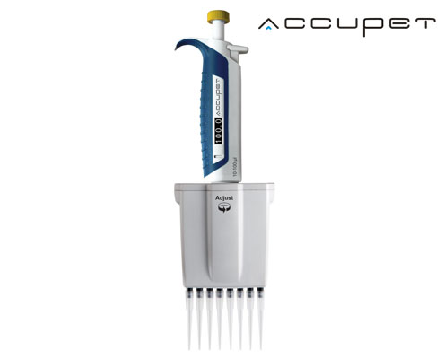 accupet pro multichannel pipette