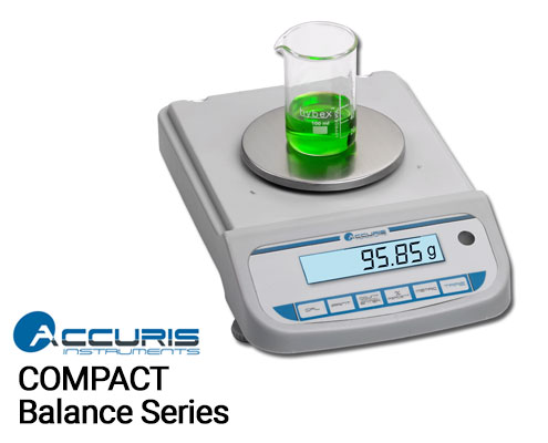 accuris compact balance by benchmark scientific