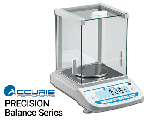 accuris precision balance by benchmark scientific