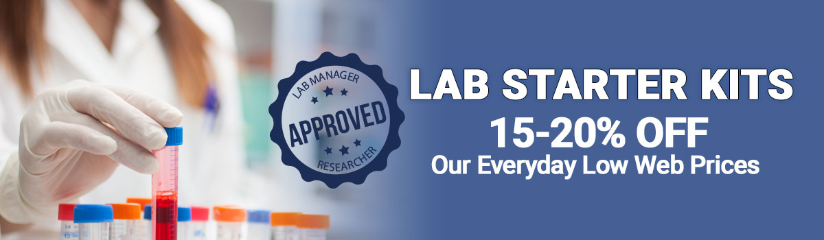 Lab Starter Kits - Save 15-20% OFF Our Everyday Low Web Pricing!