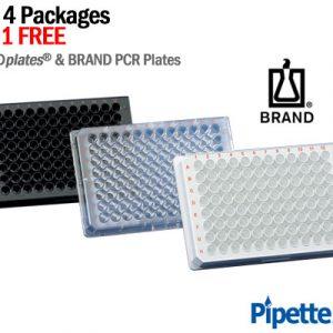 BrandTech brandplates pcr 96 well plates