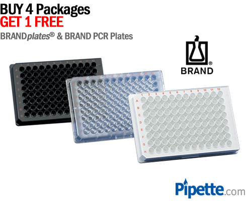 Buy four packages of BrandTech brandplates and get one Free!