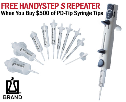 brandtech handystep repeater & pd tip syringe tips