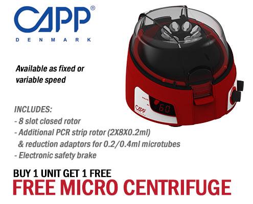 free micro-centrifuge - capp rondo