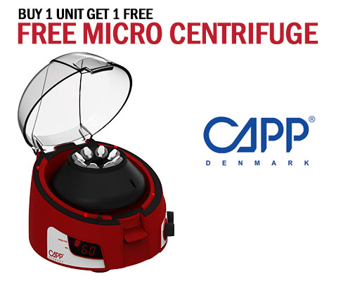 capp rondo microcentrifuge promotion