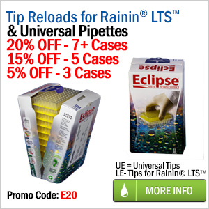 eclipse reload system - pipette tip reloads on sale