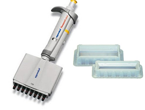 free reservoirs with purchase of eppendorf multichannel