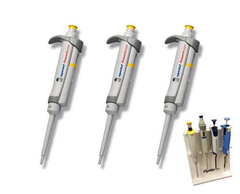 eppendorf pipettes free stand