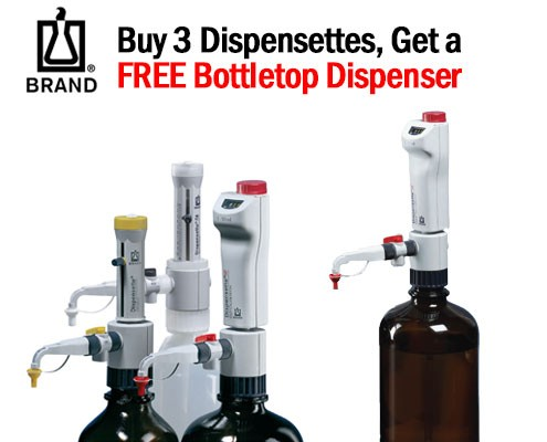 free Brand dispensette bottletop dispenser
