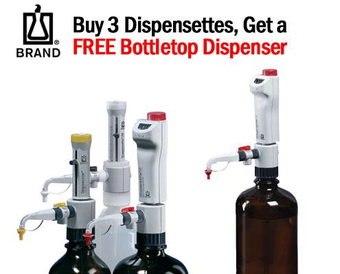 free Brand dispensette bottletop dispenser