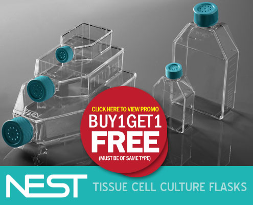 nest cell culture flasks - buy 1 get 1 free