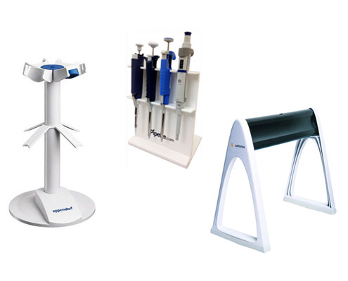 pipette stands, carousels and holders