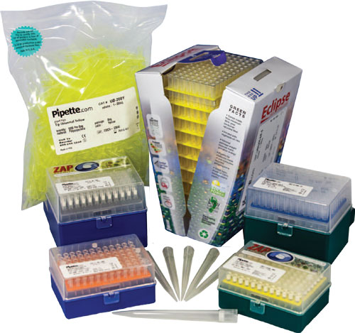 Pipette.com pipette tips available in bulk, racked, reloads