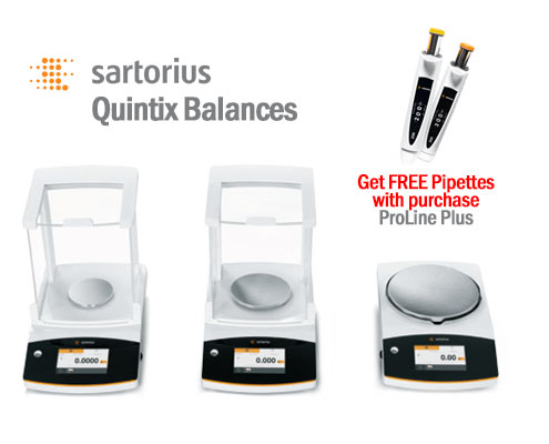 quintix free prolline plus pipettes with purchase