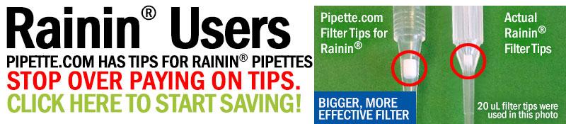 Affordable Alternative to Rainin Filter Tips