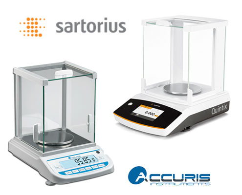 sartorius accuris balances - breast cancer awareness month