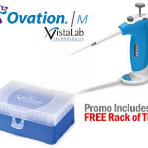 Ovation M pipette with free pipette tips